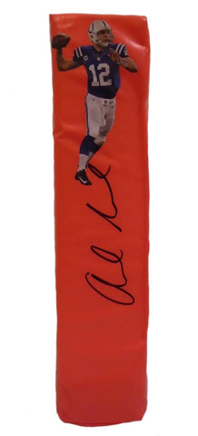 Football End Zone Pylons- Autographed- Andrew Luck Signed Indianapolis Colts TD Pylon, PSA/DNA