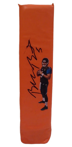 Football End Zone Pylons- Autographed- Blake Bortles Signed Jacksonville Jags TD Pylon, Proof