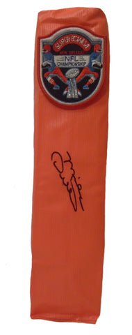 Football End Zone Pylons-Autographed - Mike Ditka Signed Dallas Cowboys Football TD Pylon, Proof