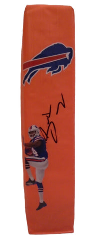 Football End Zone Pylons-Autographed - Sammy Watkins Signed Buffalo Bills Photo TD Pylon, Proof