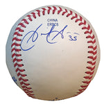 Baseballs-Autographed - Gaby Sanchez Signed Rawlings ROLB1 Official League Baseball, Proof- Miami Marlins - Seattle Mariners- 201