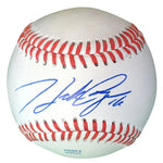Baseballs-Autographed - Hank Conger Signed Rawlings ROLB1 Leather Baseball - Proof Photo - Houston Astros - Los Angeles Angels - 501
