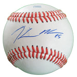 Baseballs-Autographed - Hector Noesi Signed Rawlings ROLB1 Leather Baseball, Proof Photo- New York Yankees- Pittsburgh Pirates- 101
