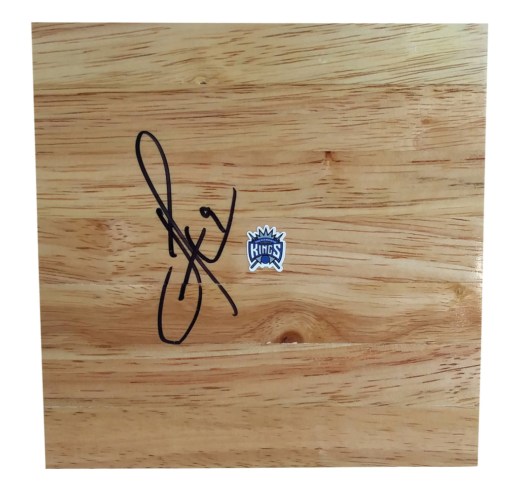 Basketball Floorboards- Autographed- Iman Shumpert Signed Sacramento Kings 6x6 Floor Board, Proof