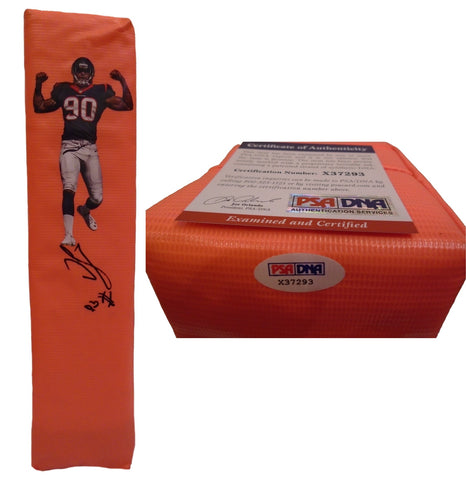 Football End Zone Pylons-Autographed - Jadeveon Clowney Signed Houston Texans Pylon, PSA/DNA Collage X37293