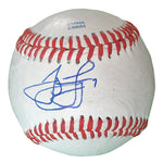Baseballs-Autographed - James Loney Signed Rawlings ROLB1 Leather Baseball, Proof Photo- Boston Red Sox- Los Angeles Dodgers- 801