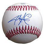 Baseballs-Autographed - Jarrod Parker Signed Rawlings ROLB1 Leather Baseball, Proof Photo - Oakland Athletics A's - Arizona Diamondbacks - 101