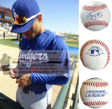 Baseballs-Autographed - Jerry Hairston Jr. Signed Rawlings ROLB1 Leather Baseball- Proof Photo- Los Angeles Dodgers- New York Yankees- Collage- 2