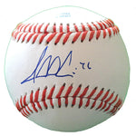 Baseballs-Autographed - Jesse Crain Signed Rawlings ROLB1 Leather Baseball, Proof Photo- Chicago White Sox- Minnesota Twins- 101
