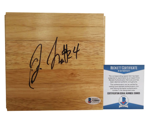 Basketballs- Autographed- Jewell Loyd Signed 6x6 Basketball Floorboard, Proof- Seattle Storm - Beckett BAS Authentication 1