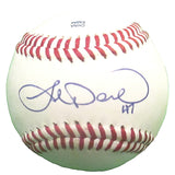 Baseballs-Autographed - Joe Saunders Signed Rawlings ROLB Leather Baseball, Proof Photo - Texas Rangers- Seattle Mariners 101