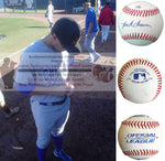 Baseballs-Autographed - Josh Vitters Signed Rawlings ROLB1 Leather Baseball, Proof- Chicago Cubs- Colorado Rockies- Collage- 2