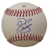 Baseballs-Autographed - Juremi Profar Signed Rawlings ROLB1 Leather Baseball, Proof Photo- Texas Rangers- Boston Red Sox- 101