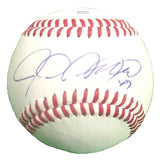 Baseballs-Autographed - Justin Germano Signed Rawlings ROLB Leather Baseball, Proof Photo - Seattle Mariners- Boston Red Sox- 101