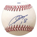 Baseballs-Autographed - Kenta Maeda Signed Rawlings ROLB1 Leather Baseball, Proof Photo- Los Angeles Dodgers- Minnesota Twins- 101