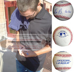 Baseballs-Autographed - Matt Purke Signed Rawlings ROLB1 Baseball W/ Inscription, Proof Photo- Washington Nationals- Collage- 1
