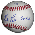 Baseballs-Autographed - Matt Purke Signed Rawlings ROLB1 Baseball W/ Inscription, Proof Photo- Washington Nationals- 101