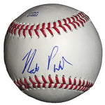 Baseballs-Autographed - Matt Purke Signed Rawlings ROLB1 Leather Baseball, Proof Photo- Chicago White Sox- Washington Nationals- 201