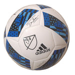 Soccer-Autographed - Mauro Diaz Signed Adidas MLS Logo White Soccer Ball, Proof Photo 102
