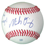 Baseballs-Autographed - Micah Owings Signed Rawlings ROLB1 Leather Baseball, Proof Photo- Arizona Diamondbacks- San Diego Padres- 101