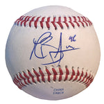 Baseballs-Autographed - Mike Bolsinger Signed Rawlings ROLB1 Leather Baseball, Proof Photo- Los Angeles Dodgers- Toronto Blue Jays- 101