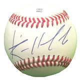 Baseballs-Autographed - Randall Delgado Signed Rawlings ROLB1 Leather Baseball, Proof Photo- Arizona Diamondbacks- Atlanta Braves- 101