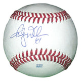 Baseballs-Autographed - Randy Wells Signed Rawlings ROLB1 Leather Baseball, Proof Photo- Chicago Cubs- Toronto Blue Jays- 301