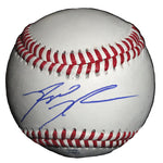 Baseballs-Autographed - Reggie Willits Autographed Rawlings ROLB1 Leather Baseball, Proof Photo- Los Angeles Angels- 101