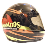 Nascar Helmets-Autographed - Ryan Newman Signed Nascar Tornados #39 Mini Helmet, Proof Photo 102