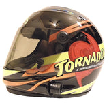 Nascar Helmets-Autographed - Ryan Newman Signed Nascar Tornados #39 Mini Helmet, Proof Photo 103