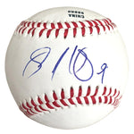 Baseballs- Autographed- Sandy Leon Signed Rawlings ROLB1 Baseball - Boston Red Sox - Cleveland Indians - Proof 101