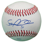 Baseballs-Autographed - Sean Marshall Signed Rawlings ROLB1 Leather Baseball, Proof Photo- Chicago Cubs- Cincinnati Reds- 401