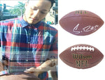 Football-Autographed - Shane Ray Signed NFL Wilson Composite Football, Proof Photo- Denver Broncos- Missouri Tigers- Collage- 2