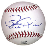 Baseballs- Autographed- Steve Kline Signed Rawlings ROLB1 Baseball Proof Photo- San Francisco Giants- St Louis Cardinals- 101