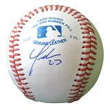 Baseballs-Autographed - Yonder Alonso Signed Rawlings ROLB1 Leather Baseball, Proof- San Diego Padres- Chicago White Sox- 201