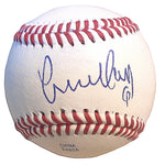 Baseballs-Autographed - Yunel Escobar Signed Rawlings ROLB1 Leather Baseball, Proof Photo- Los Angeles Angels- Atlanta Braves- 101