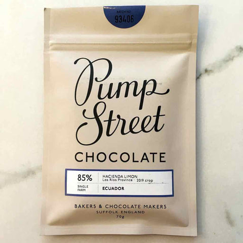 Pump Street Chocolate 85% Hacienda Limon Ecuador Bar