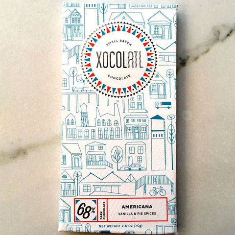 Xocolatl Small Batch Chocolate Americana Bar