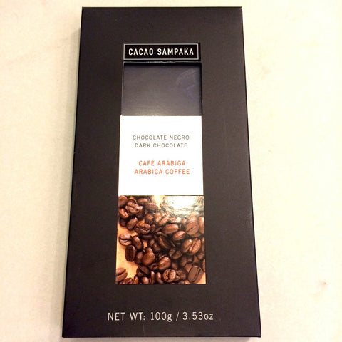 Cacao Sampaka Arabica Coffee 55% Dark Chocolate Bar