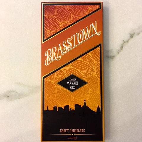 Brasstown Ecuador Manabi 70% Dark Chocolate Bar