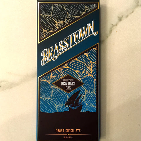 Brasstown Sea Salt 62% Gourmet Chocolate Bar