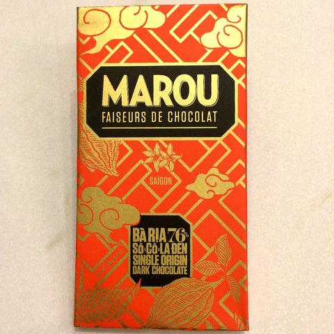 Marou Ba Ria 76% Dark Chocolate Bar