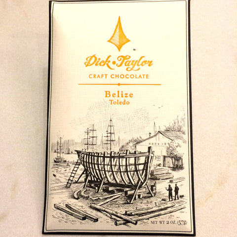 Dick Taylor Belize 72% Dark Chocolate Bar