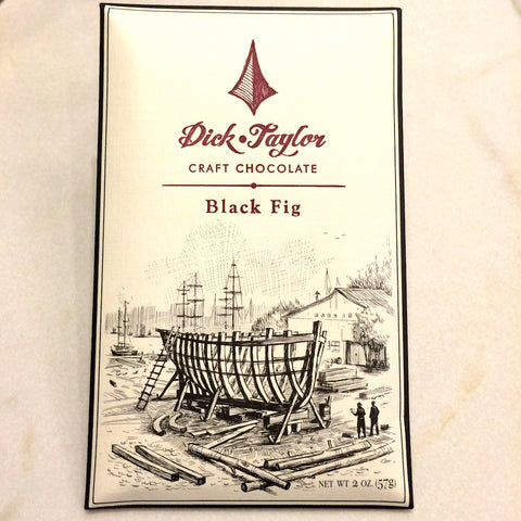 Dick Taylor Black Fig 72% Dark Chocolate Bar