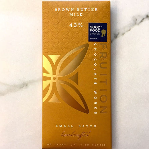 Fruition Brown Butter Dark Milk Chocolate