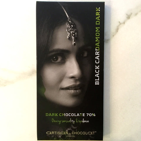 Artisan du Chocolat Black Cardamom 70% Dark Chocolate Bar