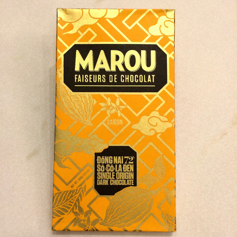 Marou Dong Nai 72% Dark Chocolate Bar