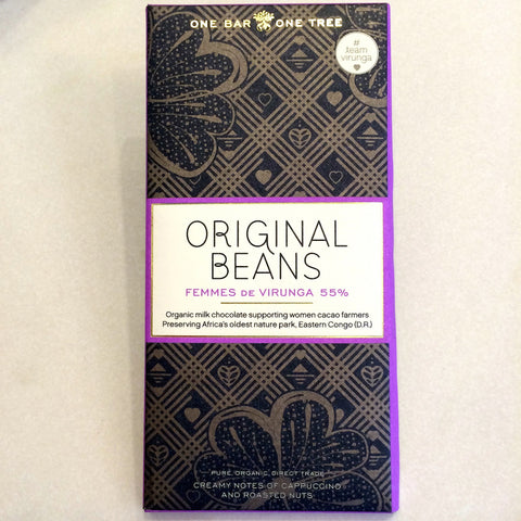 Original Beans FEMMES DE VIRUNGA 55% Bar