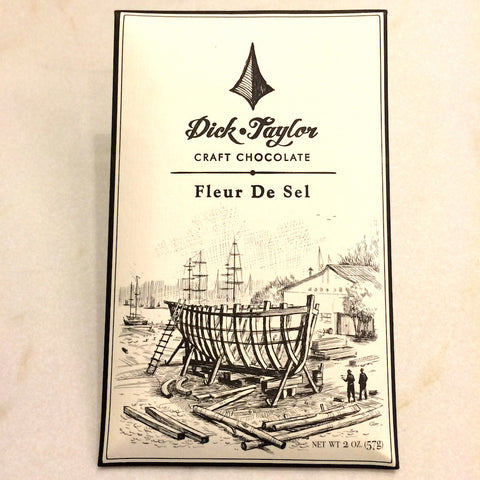 Dick Taylor Fleur de Sel 74% Dark Chocolate Bar