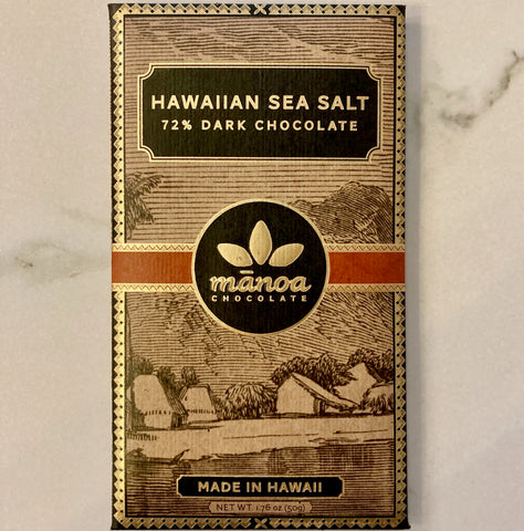 Manoa SEA SALT 72% Bar